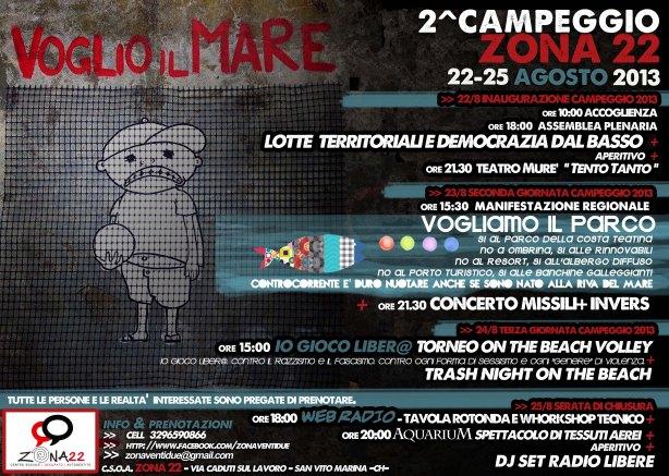 ZONA 22 - CAMPEGGIO 2013